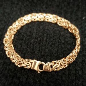 14kt gold Byzantine Bracelet